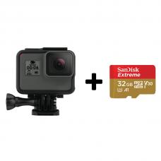 GoPro Hero6 Black + SanDisk Extreme 32gb (CHDHX-601)