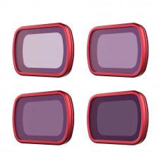 Набор нейтральных фильтров (ND8/16/32/64) DJI Osmo Pocket / Pocket 2 (Professional) (PGYTECH P-19C-066)