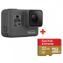 GoPro HERO5 Black + Sandisk Extreme 32Gb