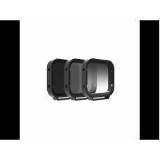 Набор фильтров PolarPro Venture 3-Pack for Hero 5 Black