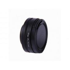Линза поляризационная CPL 37 мм для экшн-камеры