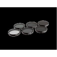 PolarPro Набор фильтров для DJI  Inspire 1 / Osmo  6-штук  (PL1,  ND8, ND16, ND32, ND8/PL, ND16/PL) (P4002)