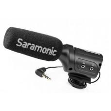 Микрофон Saramonic SR-M3 направленный с входом для второго микрофона