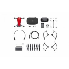 Квадрокоптер DJI MAVIC AIR Fly More Combo (EU) Flame Red