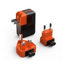 Зарядное устройство сетевое с встроенным аккумулятором 2600mAh, Redline PA01-RL011