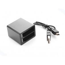 Зарядное устройство для 2 аккумуляторов экшн-камеры, Redline  RL365
