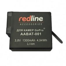 Аккумулятор повышенной емкости для экшн-камеры 1300mAh, Redline AABAT-RL01