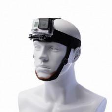 Крепление  на голову с креплением на подбородок черное, Redline RL90