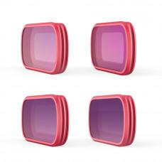 Набор фильтров для Osmo Pocket (Professional) (ND8/PL ND16/PL ND32/PL ND64/PL), PGYTECH P-18C-014