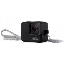Силиконовый чехол с ремешком Sleeve + Lanyard GoPro для GoPro 5/6/7 Black  (ACSST-001)