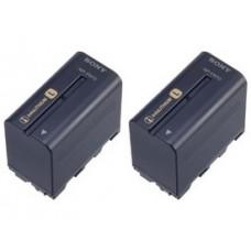 Двойная аккумуляторная батарея SONY 2NP-F970/B