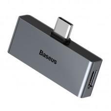 Baseus Type-C Male to C & 3.5mm Female Adapter L57 Tarnish