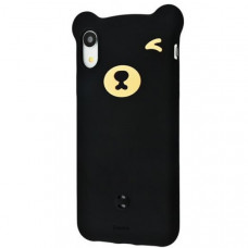 Чехол накладка Baseus Bear Silicone Case For iP XR 6.1inchBlack