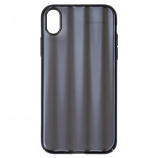 Чехол накладка Baseus Aurora Case For iP XR 6.1inch Transparent Black