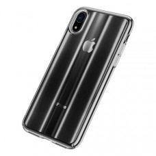 Чехол накладка Baseus Aurora Case For iP XS 5.8inch Transparent Black