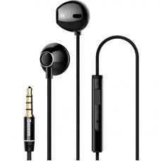 Наушники Baseus Encok H06 lateral in-ear Wire Earphone Black
