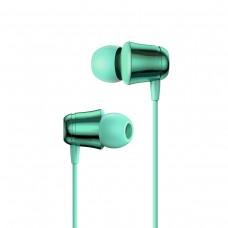 Наушники Baseus Encok 3.5mm Wired Earphone H13 Green