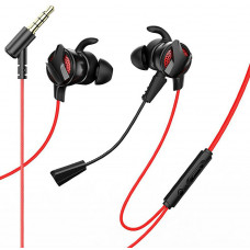Наушники Baseus GAMO 3.5MM Wired Earphone H15 Red-black