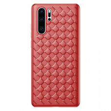 Чехол накладка Baseus BV Weaving Case For HUAWEI P30 Pro Red