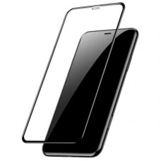 Защитное стекло Baseus 0.23mm curved-screen tempered glass screen protector with crack-resistant edges For iP XR 6.1inch Black
