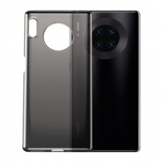 Чехол накладка Baseus New Clothes Case For Mate30 Transparent Black