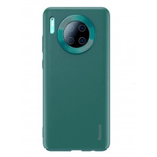 Чехол накладка Baseus Alloy Leather Pattern Protective Case For HUAWEI Mate30 Green