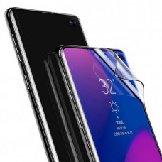 Защитная пленка Baseus 0.15mm full-screen curved anti-explosion, soft screen protector For S10 Black