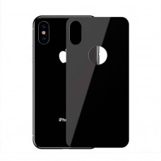 Защитное стекло Baseus 0.3mm Full coverage curved tempered glass rear protector For iPXSm 6.5(2018) Black