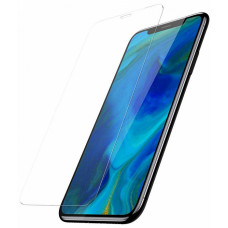 Защитное стекло Baseus 0.3mm Full coverage curved tempered glass protector with anti-blue light function For iPXSm 6.5(2018) Black