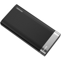 Внешний аккумулятор Baseus Parallel Type-C PD +QC3.0 power bank 20000mAh 18W Black