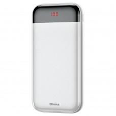 Внешний аккумулятор Baseus Mini Cu Digital Display Power Bank 20000mAh  White
