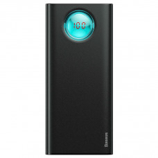Внешний аккумулятор Baseus Amblight  Digital Display Quick charge PD3.0+QC3.0 Power Bank 18W 20000mAh Black