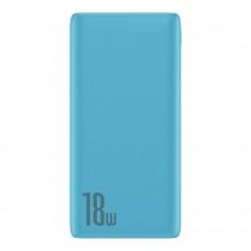 Внешний аккумулятор Baseus Bipow Quick Charge Power Bank PD+QC 10000mAh 18W Blue