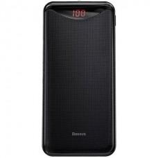 Внешний аккумулятор Baseus Gentleman  Digital Display Powerbank 10000mAhBlack