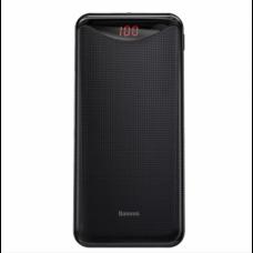 Внешний аккумулятор Baseus Gentleman Digital Display Powerbank 10000mAh Black