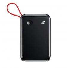 Внешний аккумулятор Baseus Mini S Digital Display 3A Power Bank 10000mAh (With IP Cable)Black