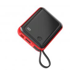 Внешний аккумулятор Baseus Mini S Digital Display 3A Power Bank 10000mAh (With IP Cable)Red