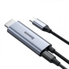 Baseus C-Video Functional Notebook Cable(C TO HDMI+PD)1.8m Dark gray