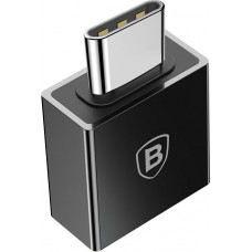 Baseus Exquisite Type-C Male to USB Female Adapter Converter 2.4A Black