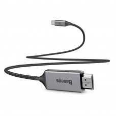 Baseus Video Type-C Male To HDMI Male Adapter Cable 1.8M Space gray