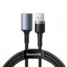 Кабель Baseus cafule Cable USB3.0 Male TO USB3.0 Female 2A 1m Dark gray