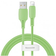 Кабель Baseus Colourful Cable USB For iP 2.4A 1.2m Green