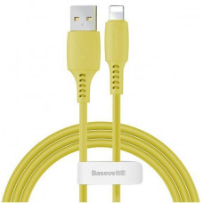 Кабель Baseus Colourful Cable USB For iP 2.4A 1.2m Yellow