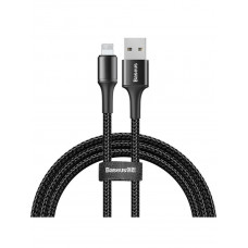 Кабель Baseus halo data cable USB For iP 1.5A 2m Black