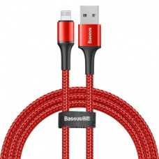 Кабель Baseus halo data cable USB For iP 1.5A 2m Red
