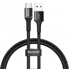 Кабель Baseus halo data cable USB For Micro 2A 2m Black