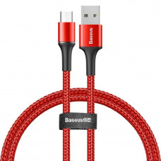 Кабель Baseus halo data cable USB For Micro 2A 3m Red
