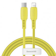 Кабель Baseus Colourful Cable Type-C For iP 18W 1.2m Yellow