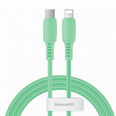 Кабель Baseus Colourful Cable Type-C For iP 18W 1.2m Green