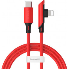 Кабель Baseus Colourful Elbow Type-C to iP Cable PD 18W 1.2m Red